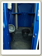 Event Portable Toilet Inside