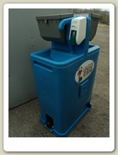 Hand Washing Station Front